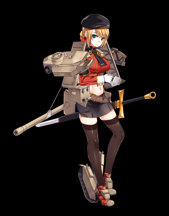 Centurion Mk.III illustration captured from her Live2D